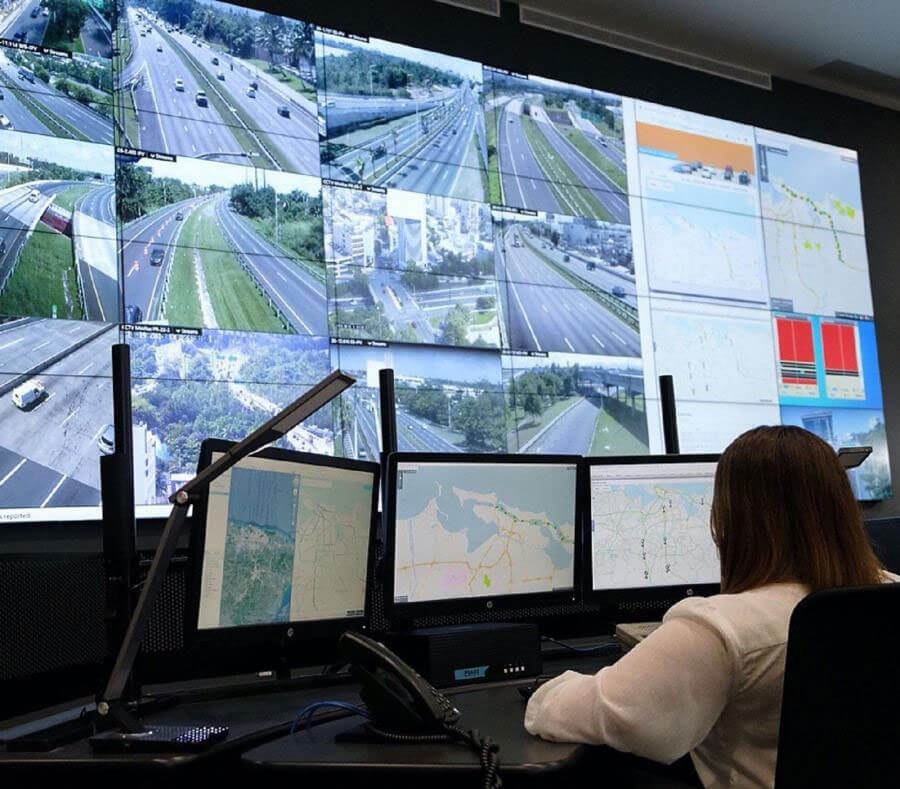 The government inaugurates the Traffic Management Center