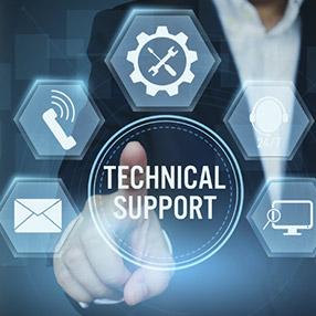 "<ul class=""accent-bullets""> <li>Technical assistance</li> <li>Recommend, repair or replace damaged components</li></ul>"